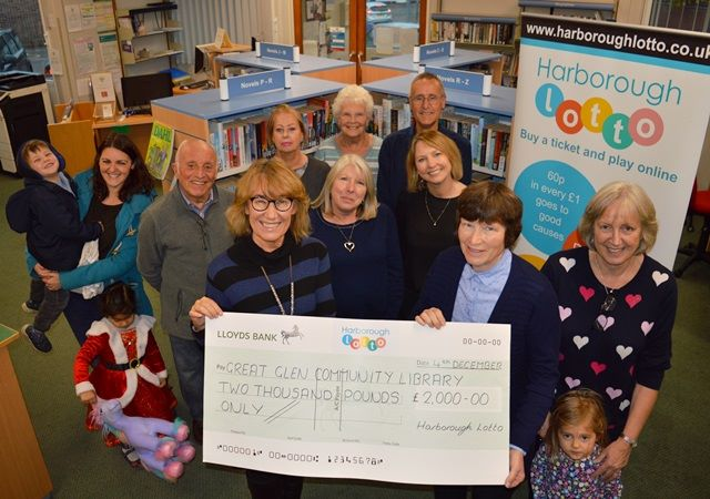 Great Glen Community Library £2k Presentation